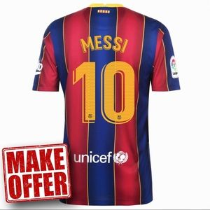 Messi Barcelona Home Jersey 20-21